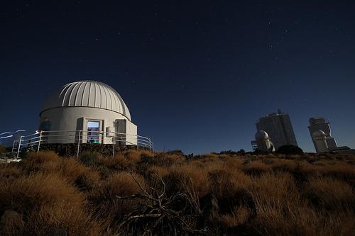 Observatorium auf dem Teide Teneriffa