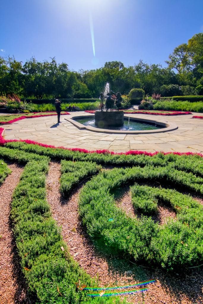 Conservatory Garden central park photo