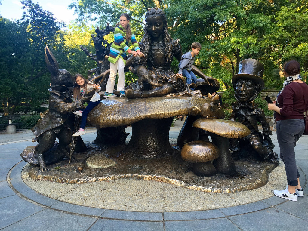 Alice in Wonderland Statue photo