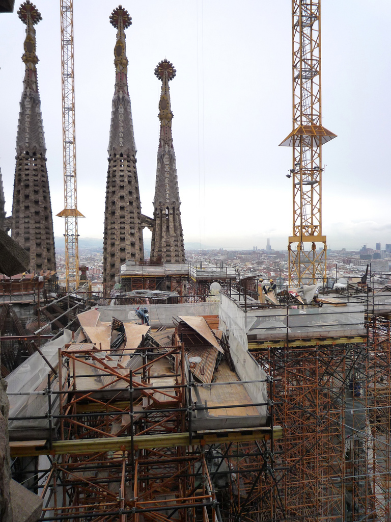 Sagrada Familia roof photo