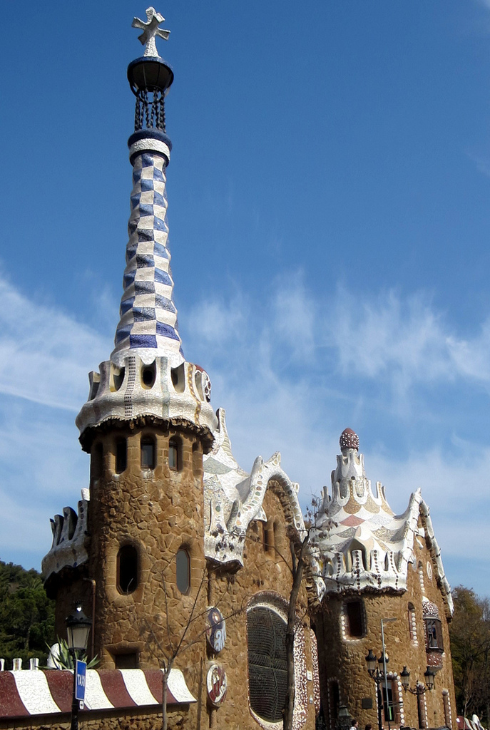 Parc Guell Barcelona photo