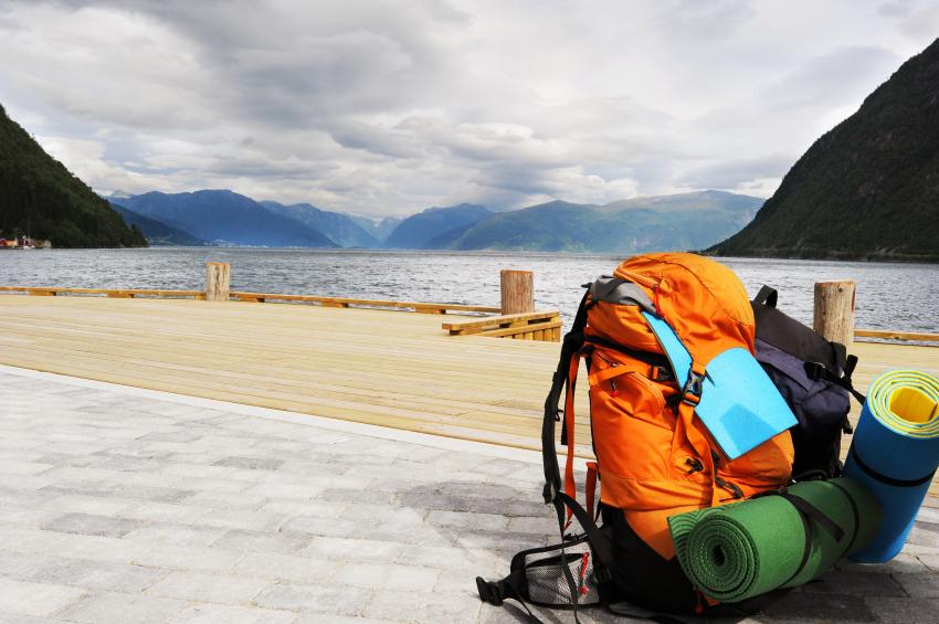 Nur einen großen Rucksack auf Reisen mitnehmen?