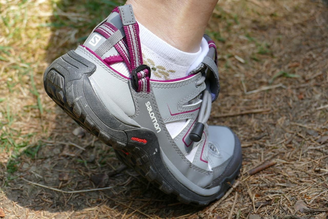 hiking shoes photo